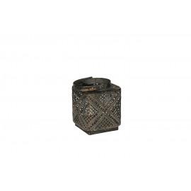 FUTTSU-Lantaarn-Metaal-Goud-S- dia 9 x 11 cm
