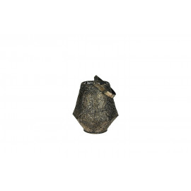 TAGAWA-Lantaarn-Metaal-Geoxideerd-S- dia16.5 x 21 cm