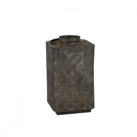 ASAKURA-Lantaarn-Metaal-Goud geoxideerd-L- dia 32 x 56.5 cm
