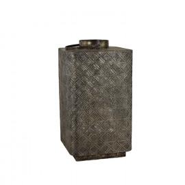 ASAKURA-Lantern-Metal-Gold oxidized-XL- dia 46 x 84 cm