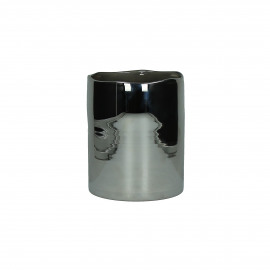 ROSA-Windlicht-Glas-Zilver-S- dia 15 x 17.5 cm