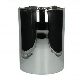 ROSA-Windlicht-Glas-Zilver-L- dia 23 x 31 cm