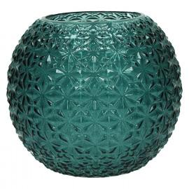 MOON-Vaze-Glas-Licht blauw-M-dia 21 x 18 cm