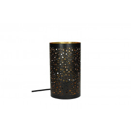 COSMOS-Lamp-E27-Metal-Black-Gold- dia 15 x 26 cm