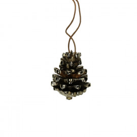 PINO - Christmas pendant-Metal-Gold-S- dia 5 x 6 cm