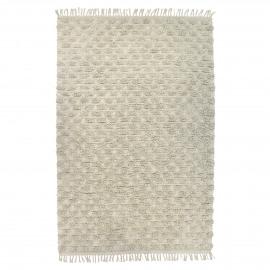 TÄBY - tapijt - 100% katoen - wit - 140x200 cm