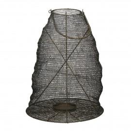 LOOP - lantern - metal - black - XL - Ø40xh51 cm