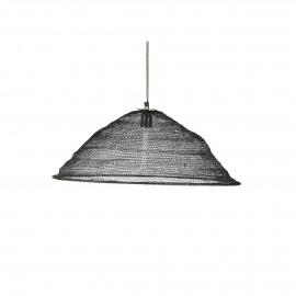 LOUISE - suspension - métal - noir - Ø62xh22 cm