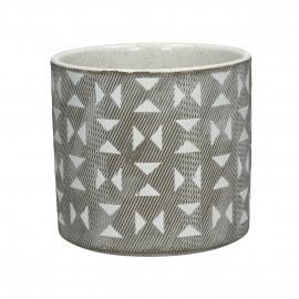 EPHESE - flower pot - earthenware - DIA 14 x H 13,2 cm