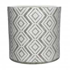 EPHESE - flower pot - earthenware - DIA 31 x H 30 cm