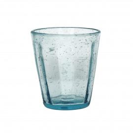 VIC - conisch beker - glas - licht blauw -  dia9x10 cm