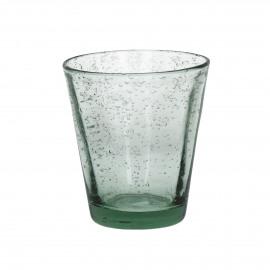 VIC - conisch beker - glas - licht groen - dia9x10 cm