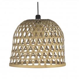 LAESO  - hanglamp - bamboe - DIA 41 x H 36 cm - naturel