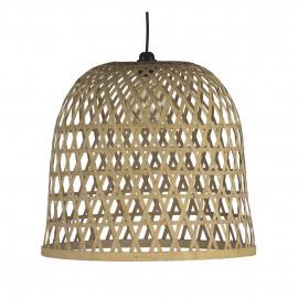 LAESO  - hanglamp - bamboe - DIA 48 x H 43 cm - Naturel