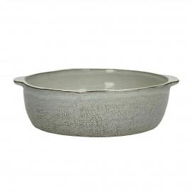 FANNY - ovendish - earthenware - L 22 x W 20 x H 6 cm