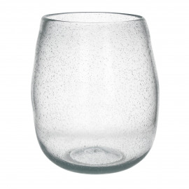 PAOLA - Vaas - Glas - Helder - dia 34 x 40 cm