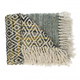 TINGHIR - throw - 100% cotton - multi - 130x170 cm