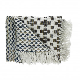 TAN-TAN - plaid - coton - L 130 x W 170 cm - multicolor