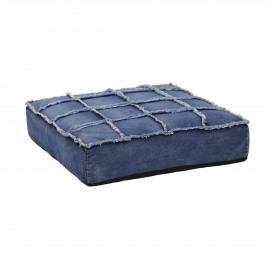 DENIM -  - L 70 x W 70 x H 17 cm - Jeans blue