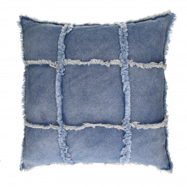 DENIM -  - L 60 x W 60 cm - jeans blue
