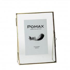 DOK - fotokader - metaal - goud - 20x15x5,5cm