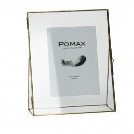 DOK - fotokader - metaal - goud - 25x20x6cm