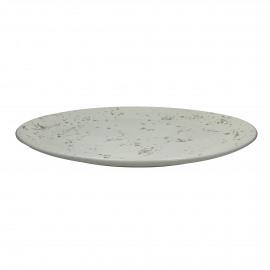 SPRINKLE - schaal - hout - wit/goud - Ø55,5 cm
