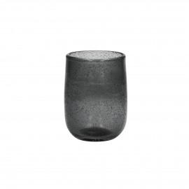 VICTORIA - waterglas - glas - smoke grijs -  7x10cm