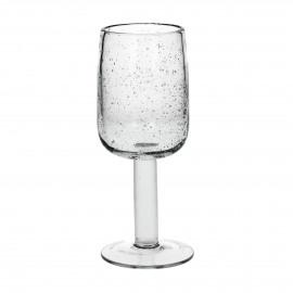 VICTORIA - wijnglas - glas - transparant - 7x18,5 cm
