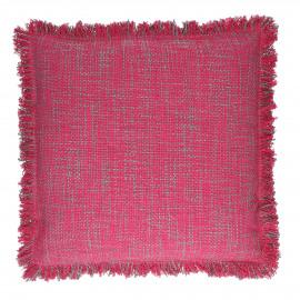 MOJITO - kussen - katoen - roze - 45x45 cm