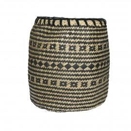 ZIGGY - basket - seagrass - DIA 25 x H 30 cm