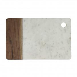 IDLI - cheese plate - marble / marble - L 30 x W 20 cm