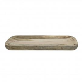 DOMI - dienblad - mango hout - L 29,5 x W 45,5 cm