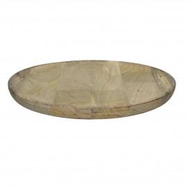 DOMI - dienblad rond - mango hout -  Ø50 cm