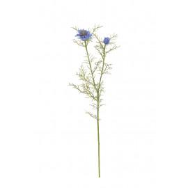NIGELLA - nigella branche - bleu - h68 cm