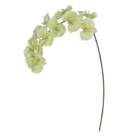 PHALAENOPSIS - orchidèe - synthétique - H 125 cm - jaune