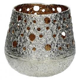 SHINY-T/light-Aluminium-Zilver-Goud-S- dia 11 x 10 cm