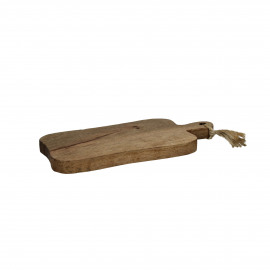 ORGANIC - chopping board - mango wood - L 42 x W 20 x H 3 cm