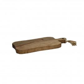 ORGANIC - planche à découper - bois de mangier - L 42 x W 20 x H 3 cm