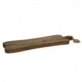 ORGANIC - snijplank - mango hout - L 63 x W 20 x H 2,5 cm