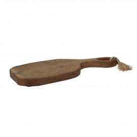 ORGANIC - planche à découper - bois de mangier - L 49 x W 20 x H 3 cm