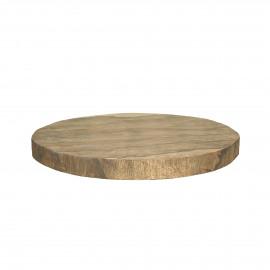 ORGANIC - planche à découper - bois de mangier - DIA 32 x H 3 cm