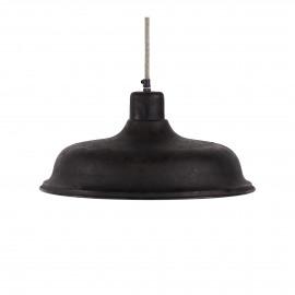 FARMER-Hanging lamp-E27-Iron-Ant. Zinc-L- dia 40 cm