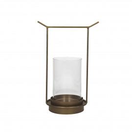 ORIENT  - lantern - metal - L 20,5 x W 14 x H 30 cm - gold