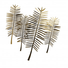 FLORIDA  - wall art - metal - L 83 x W 1,2 x H 80 cm - gold