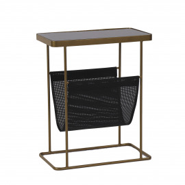 LOTT - table d'appoint - - L 45 x W 25 x H55 cm