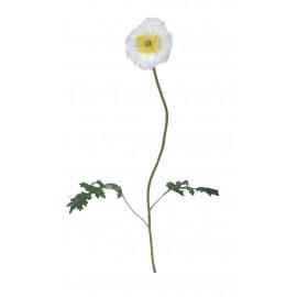POPPY - poppy iceland - synthetics - H 63 cm - white