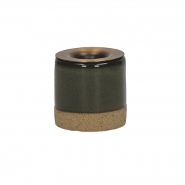 MIXOLOGY - stoneware - DIA 5 x H 5 cm - Groen