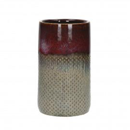 BAIA - vase - céramiques - multi - Ø12x21 cm