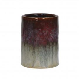 BAIA - vaas - keramiek - multi - Ø10x13,5 cm